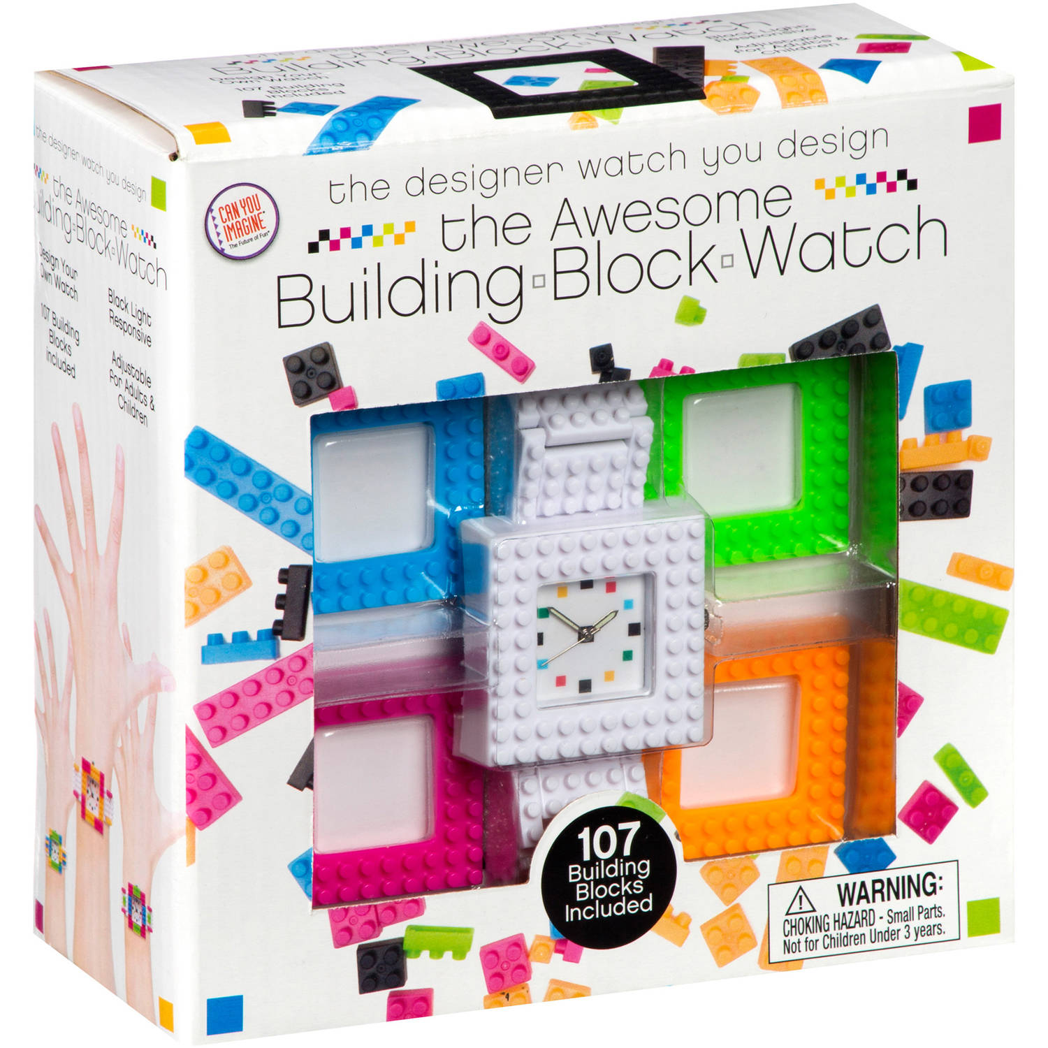 Toysmith Design Your Own Building Blocks Watch Kit