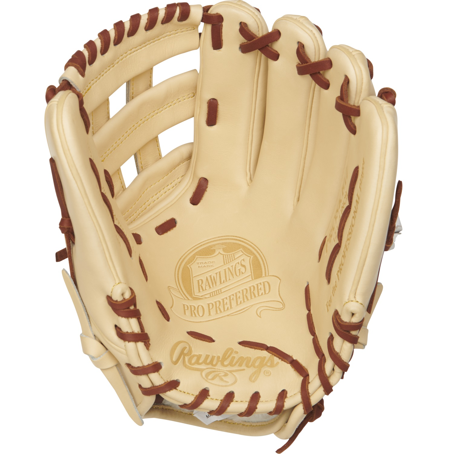 "Rawlings 12.25"" Pro Preferred Series Baseball Glove, Right Hand Throw"