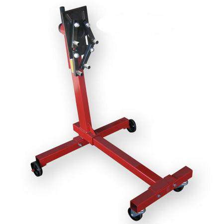 Hiltex 1000 LB Engine Stand | Automotive Motor Dolly Hoist Mover Repair Rebuild Wheels