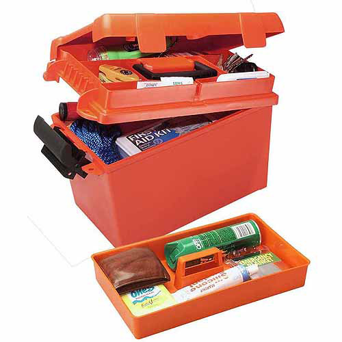 MTM Sportsman Dry Box, Small, Orange