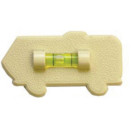 Motorhome Level (Prime Products 28-0131 Colonial White Stick-On Motorhome Level)