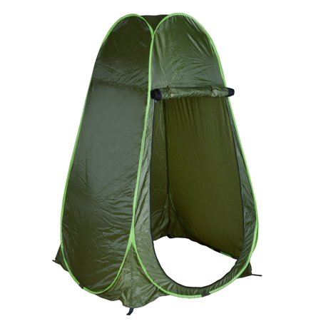 CALHOME Portable Green Outdoor Pop Up Tent Camping Shower Privacy Toilet Changing Room