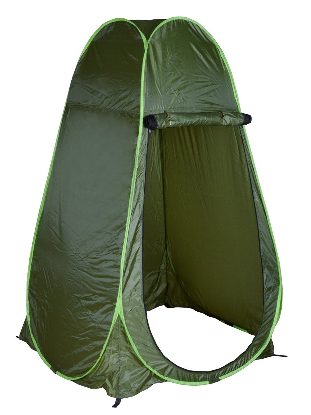 CALHOME Portable Green Outdoor Pop Up Tent C&ing Shower Privacy Toilet Changing Room  sc 1 st  Walmart : portable toilet tents - memphite.com