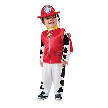 Rubie's Costume Toddler PAW Patrol Marshall Child Costume (Janet Marshall Halloween)