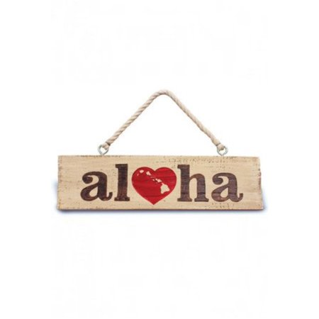 Hawaii Hanging Sign (Heart Of Hawaii Hanging Sign)