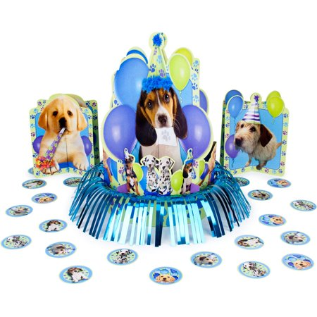 Puppy Party Centerpiece (each) - Party Supplies - Puppy Party Supplies
