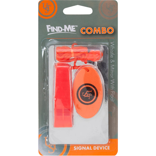 Ultimate Survival Technologies Floating Whistle/Mirror Combo