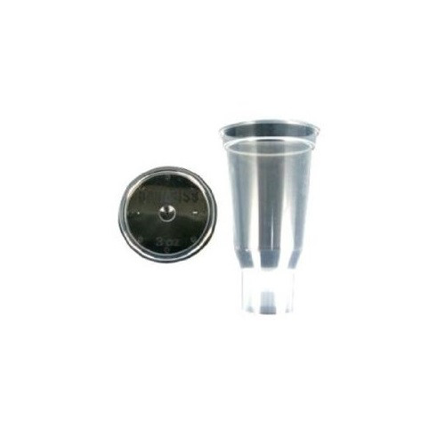 Itw Devilbiss DPC-503-K24 3 Oz. Disposable Cup And Lid [qty 24]