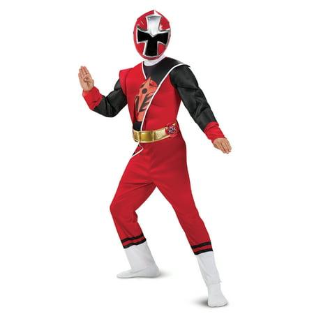 Red Ranger Ninja Steel Deluxe Costume - Red Dawn Costume