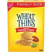 Wheat Thins Crackers, Sundried Tomato & Basil, Family Size, 15 oz