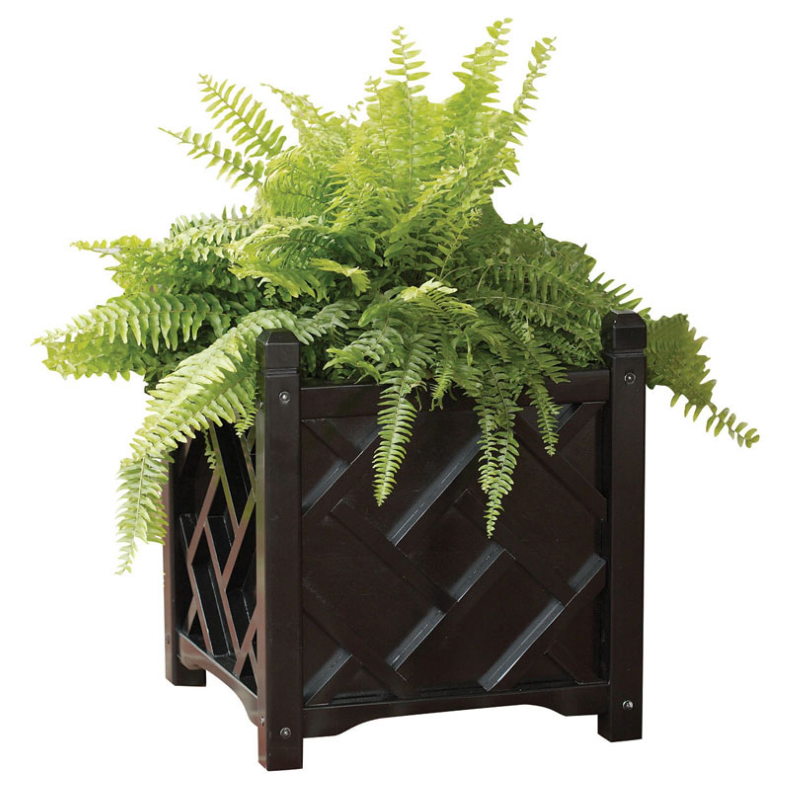 Solid Wood Chippendale Planter Box