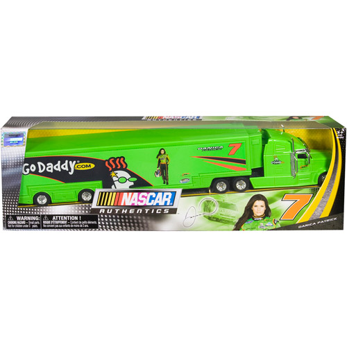 NASCAR 1:64th Collector Hauler, #7 Go Daddy.com