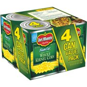 Del Monte Fresh Cut Golden Sweet Whole Kernel Corn 4-15.25 oz. Box