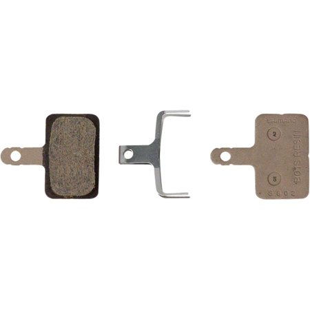 Shimano B01S Resin Disc Brake Pad and Spring, 3rd version of B01S pad fits many Deore, Alivio and Acera Calipers