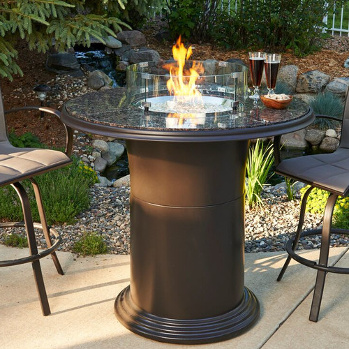 The Outdoor GreatRoom Company Colonial Propane Fire Pit Table