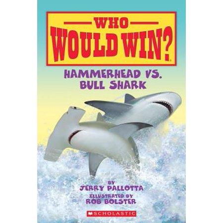 - Hammerhead vs. Bull Shark (Paperback)