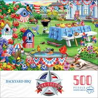 Buffalo Games - Old Glory - Backyard BBQ - 500 piece jigsaw puzzle