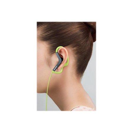 Sony MDR-AS200 - Active Sports - headphones - ear-bud - over-the-ear mount - (Sony X Series Over The Ear Headphones)
