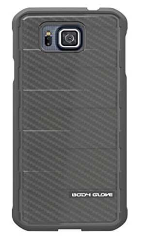 Body Glove Rise Case for Samsung Galaxy S5 Alpha (Black Carbon Fiber) 9462101 by Body Glove