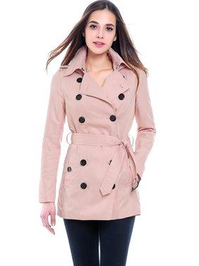 Women's Tori Classic Hooded Short Trench Coat