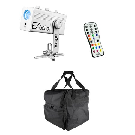 Chauvet DJ EZGobo Battery-Powered LED Projector with IRC Remote + Transport
