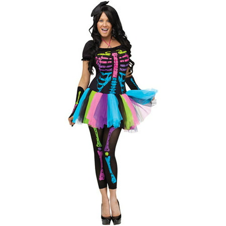 Funky Punk Bones Adult Halloween Costume