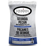 Louisiana Grills All Natural Hardwood Pellets, Georgia Pecan, 20 lbs