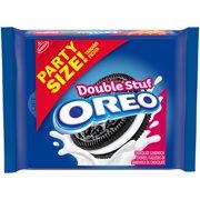 OREO Double Stuf Chocolate Sandwich Cookies, Party Size, 26.7 oz
