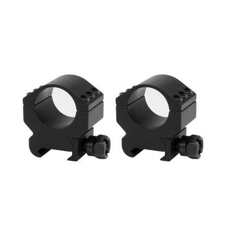 1 inch Lockdown Series High Performance Scope Rings | Picatinny Mount | Medium