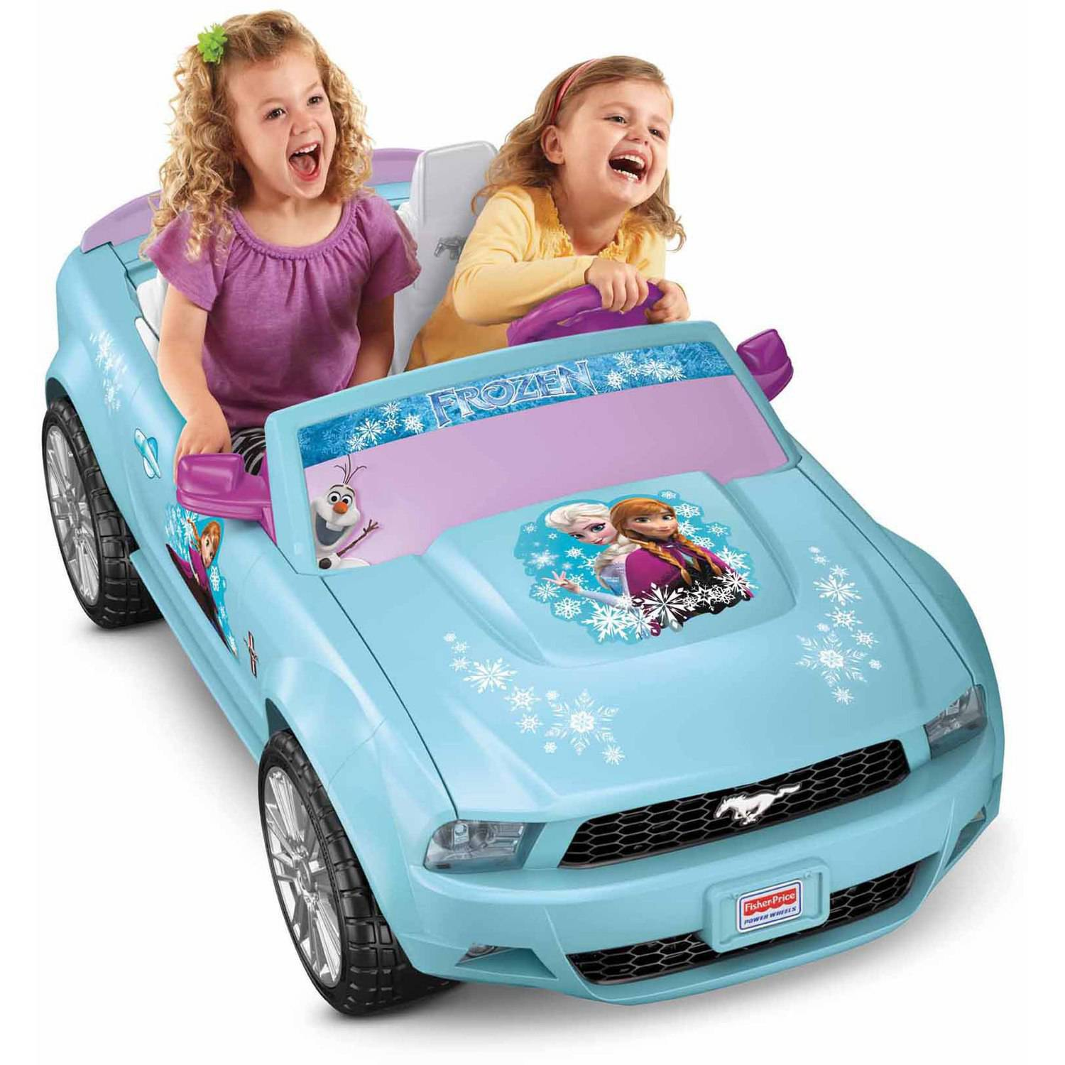 Fisher-Price Power Wheels Disney Frozen Ford Mustang