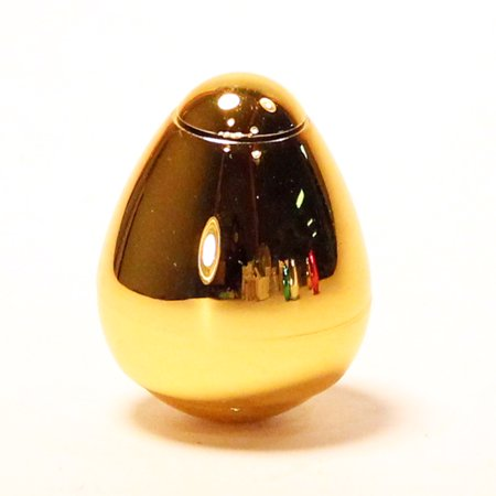 Dazzle Dance Spinning Gyro Egg Toy - Tons of Fun! (Gold) (Gold Eggs)