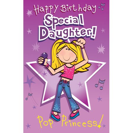 Singing Card Happy Birthday Daughter
