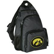 Iowa Hawkeyes Backpack Single Strap University of Iowa Sling Backpack