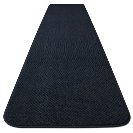 Skid-resistant Carpet Runner - Navy Blue - 6 Ft. X 27 In. - Many Other Sizes to Choose From