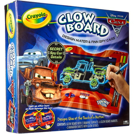 Download Crayola Disney Cars 2 Glow Board - Walmart.com