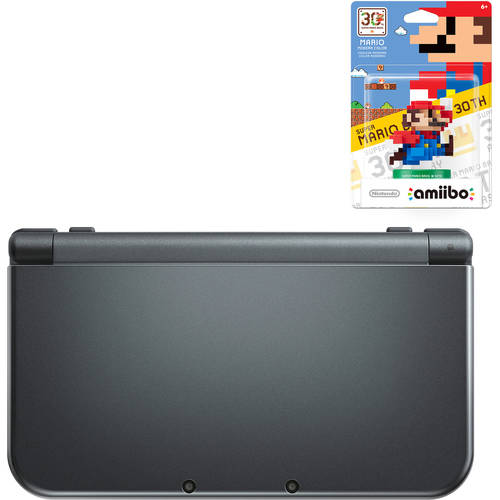 New Nintendo 3DS XL Handheld Bundle with Bonus amiibo
