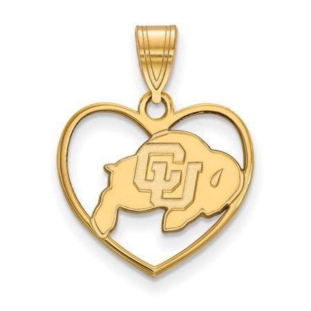 Colorado Heart - Colorado Pendant in Heart (Gold Plated)