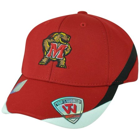 NCAA Top of the World Maryland Terrapins Back Nine Rookie Youth Flex Fit Hat Cap