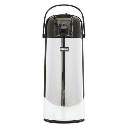 BUNN 28696.0002 Airpot Carafe Coffee Brewer,2.2L,SS