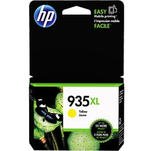 HP 8 Units 935Xl Yellow Ink Cartridge - Inkjet - High Yield - 825 Page - 8 Pack