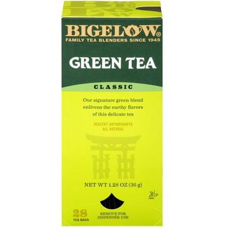 Bigelow Classic Green Tea Bags, 1.28 Oz., 28 Count