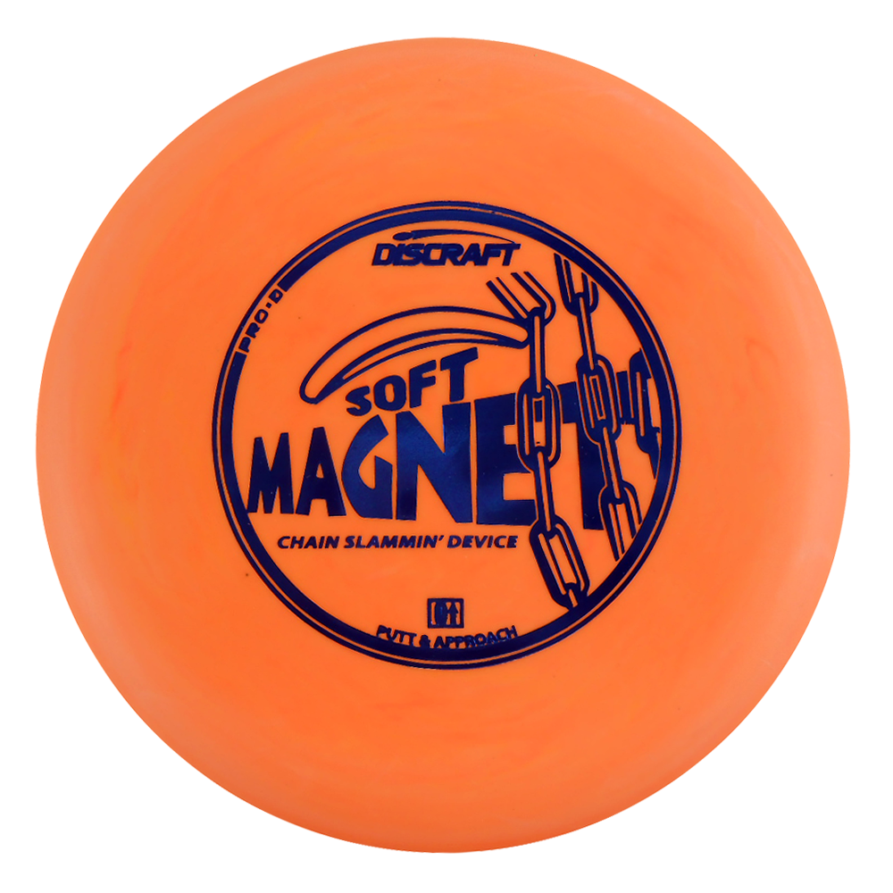 Discraft Pro D Soft Magnet 175-176g Putter Golf Disc [Colors may vary] - 175-176g