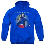 Supergirl Classic Hero Mens Pullover Hoodie