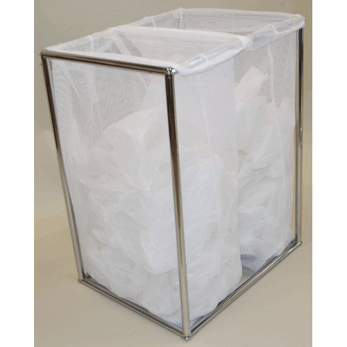 The Bag Stand Co Double Hamper with Bag