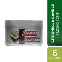Deals on Coleman Repellents Smores Citronella Candle 6 Oz.