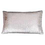 Thro by Marlo Lorenz Gary Quilted Rectangle Crackle Pillow