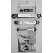 Wilde Tool 805/Vr 3-Piece Off/Set Ratchet Box Wrench Set Vinyl Roll