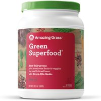 Amazing grass green superfood powder, berry, 100 servings