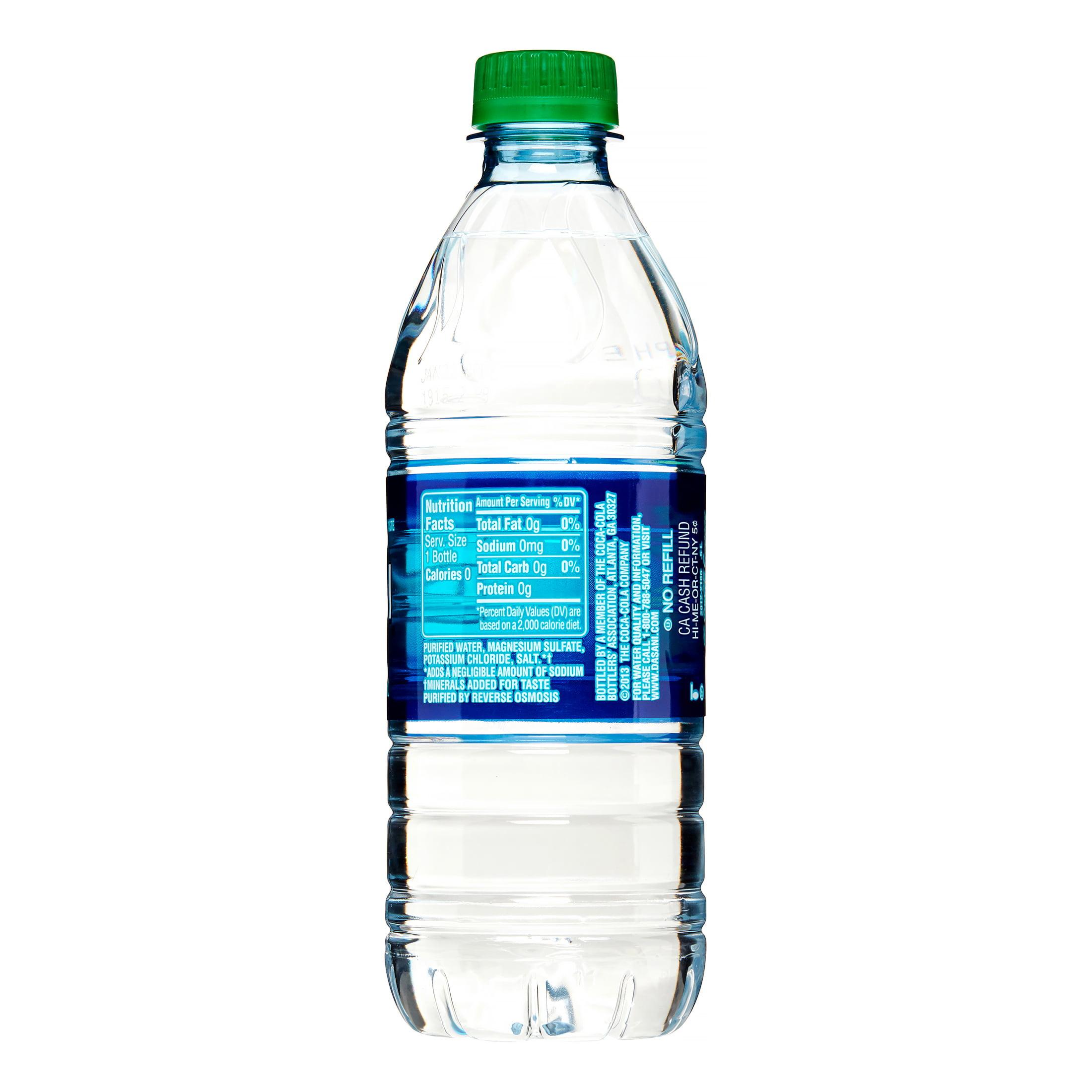 Dasani Purified Water, 16.9 Fl. Oz., 24