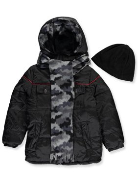 648bf864faa Product Image iXtreme Little Boys  Toddler Insulated Jacket with  Accessories (Sizes 2T ...